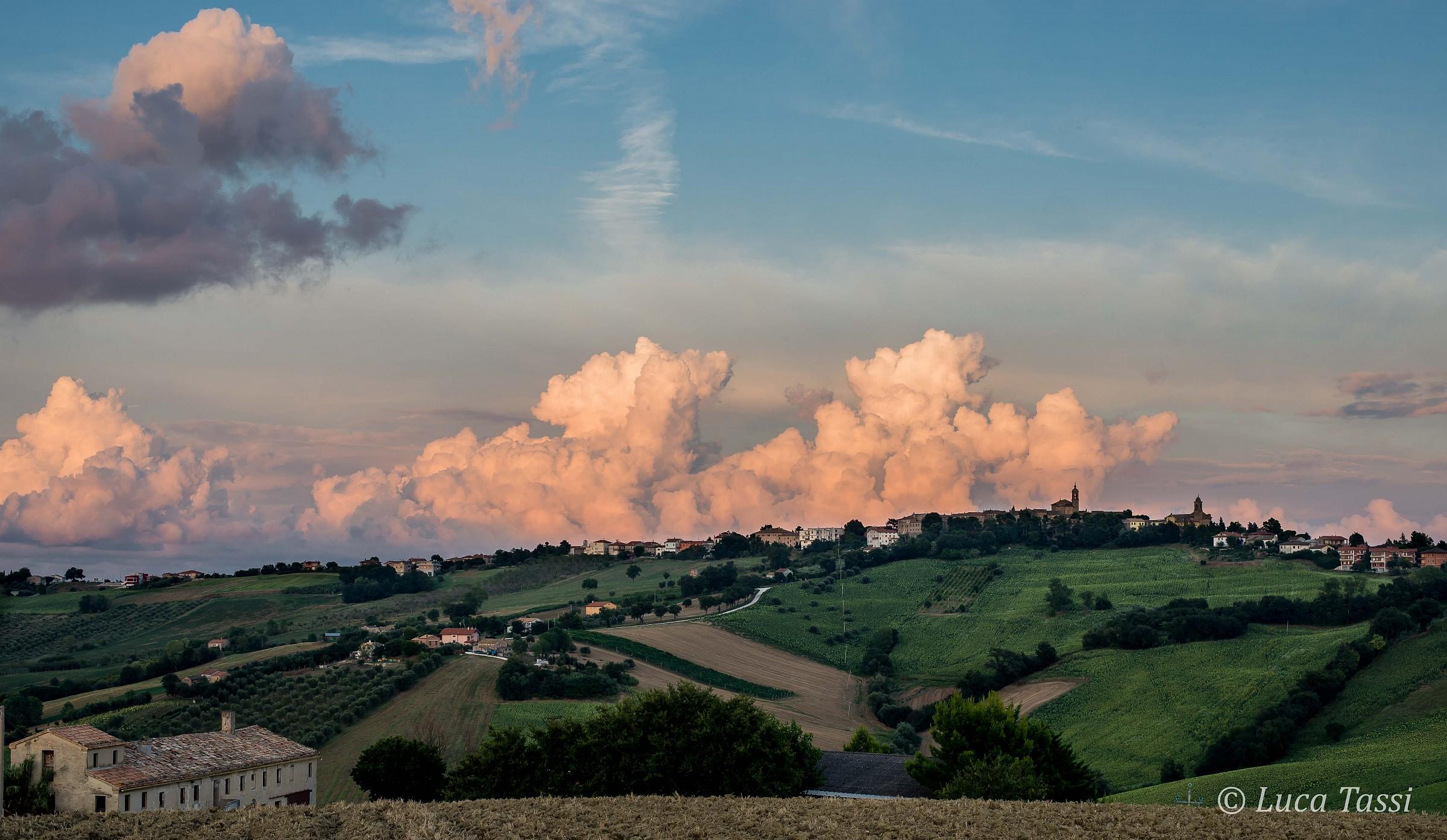 Sunset at Belvedere Ostrense...