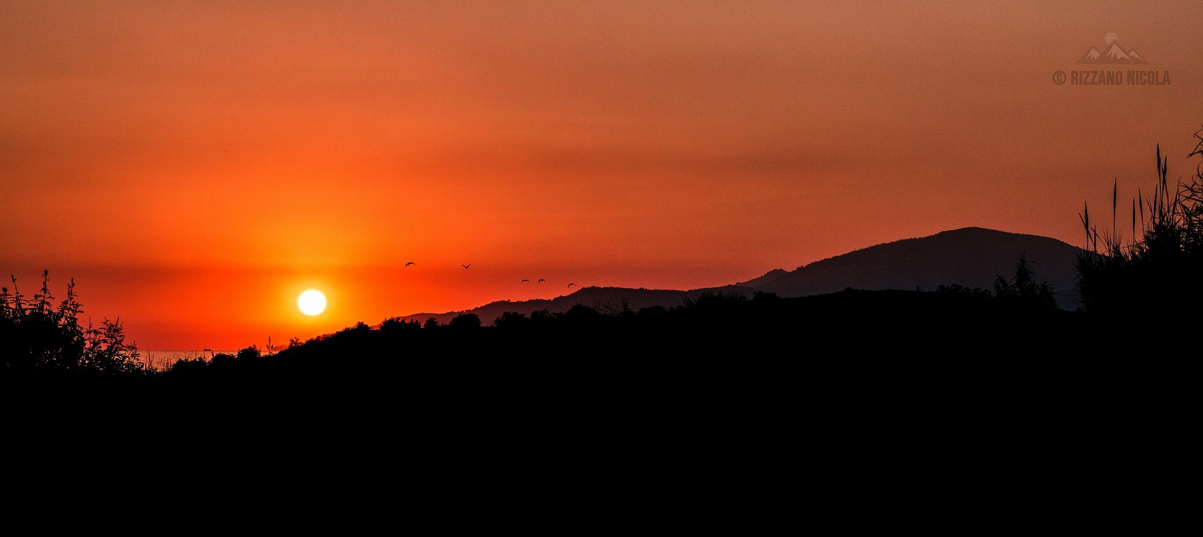 Red Sunset...