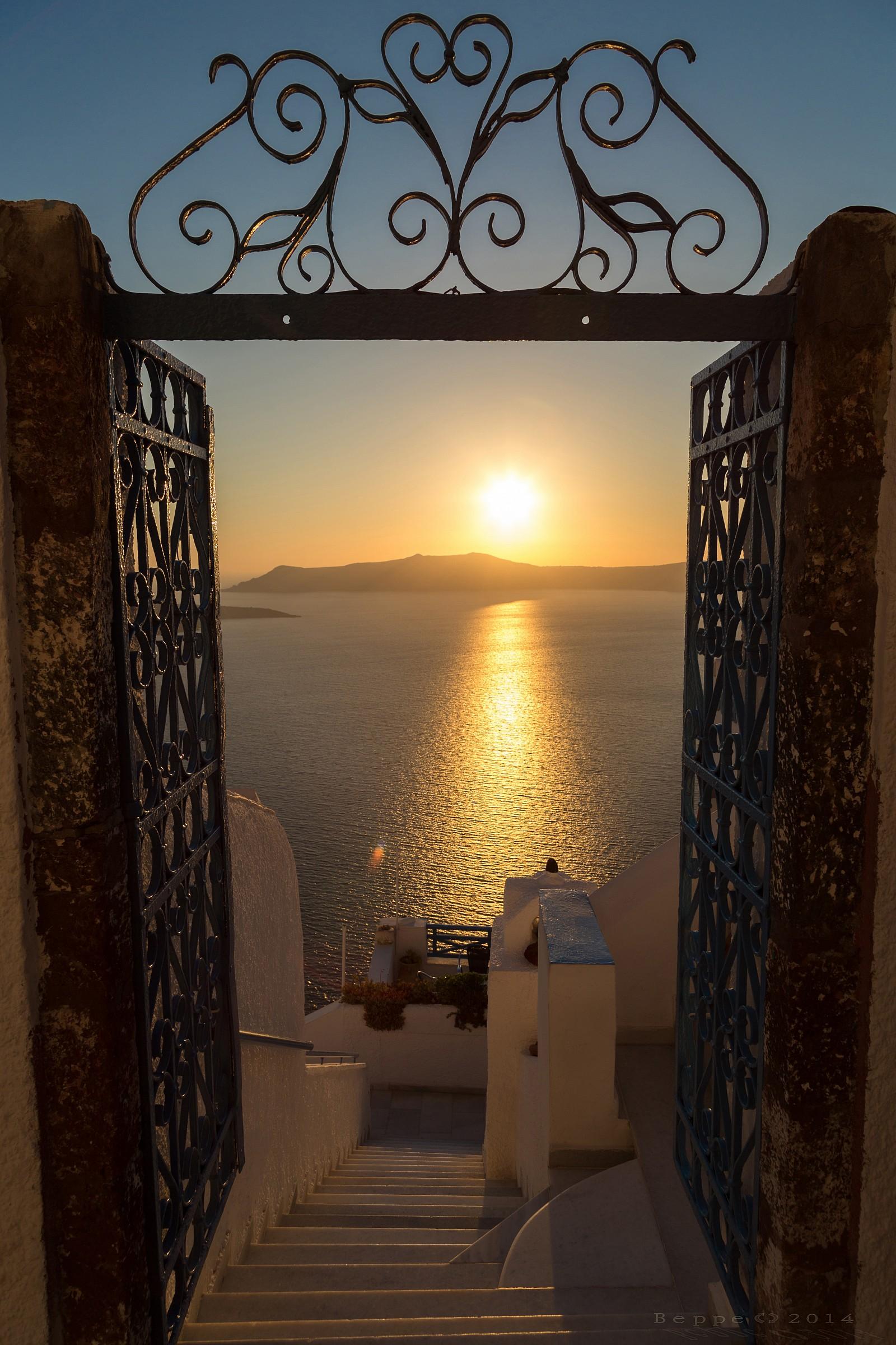 Welcome to Santorini...