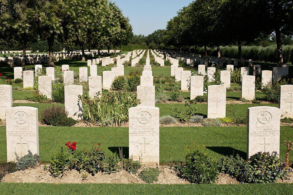 Coriano Cemetery of War...