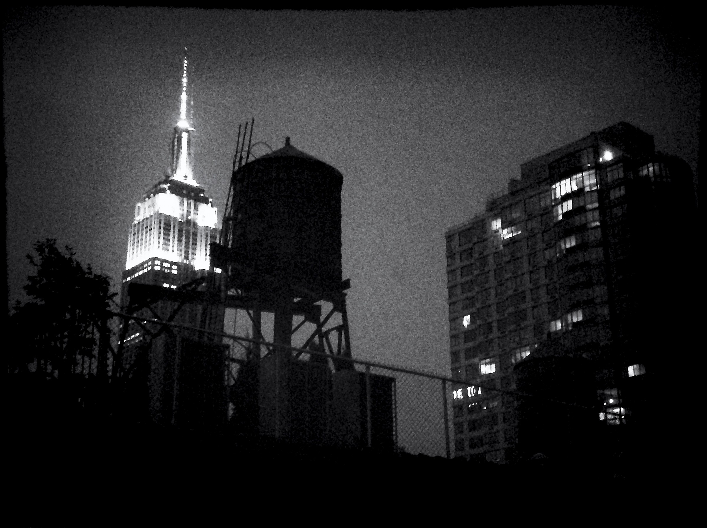 Empire State Building (from my room)...
