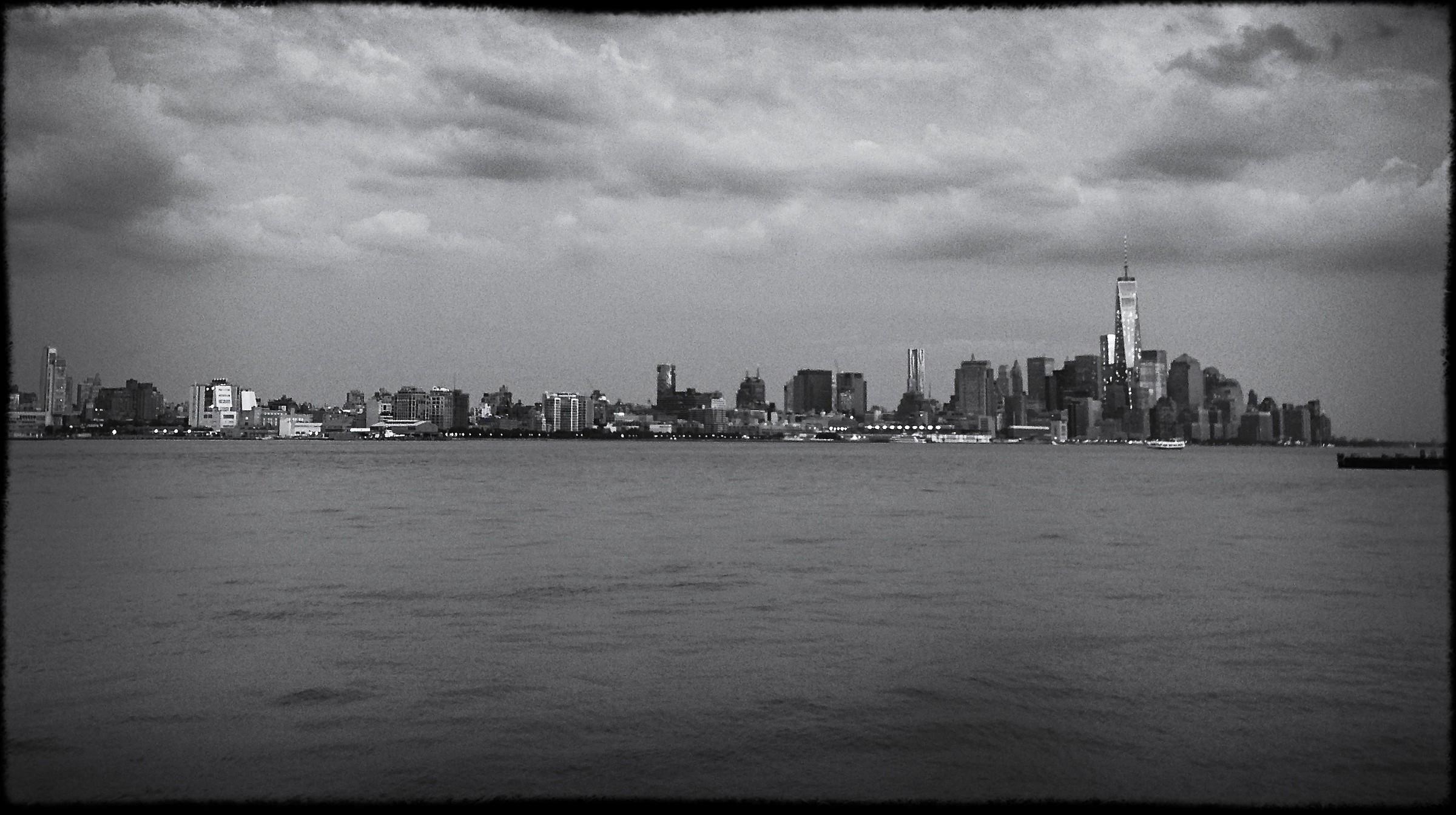 Freakin' nice skyline...