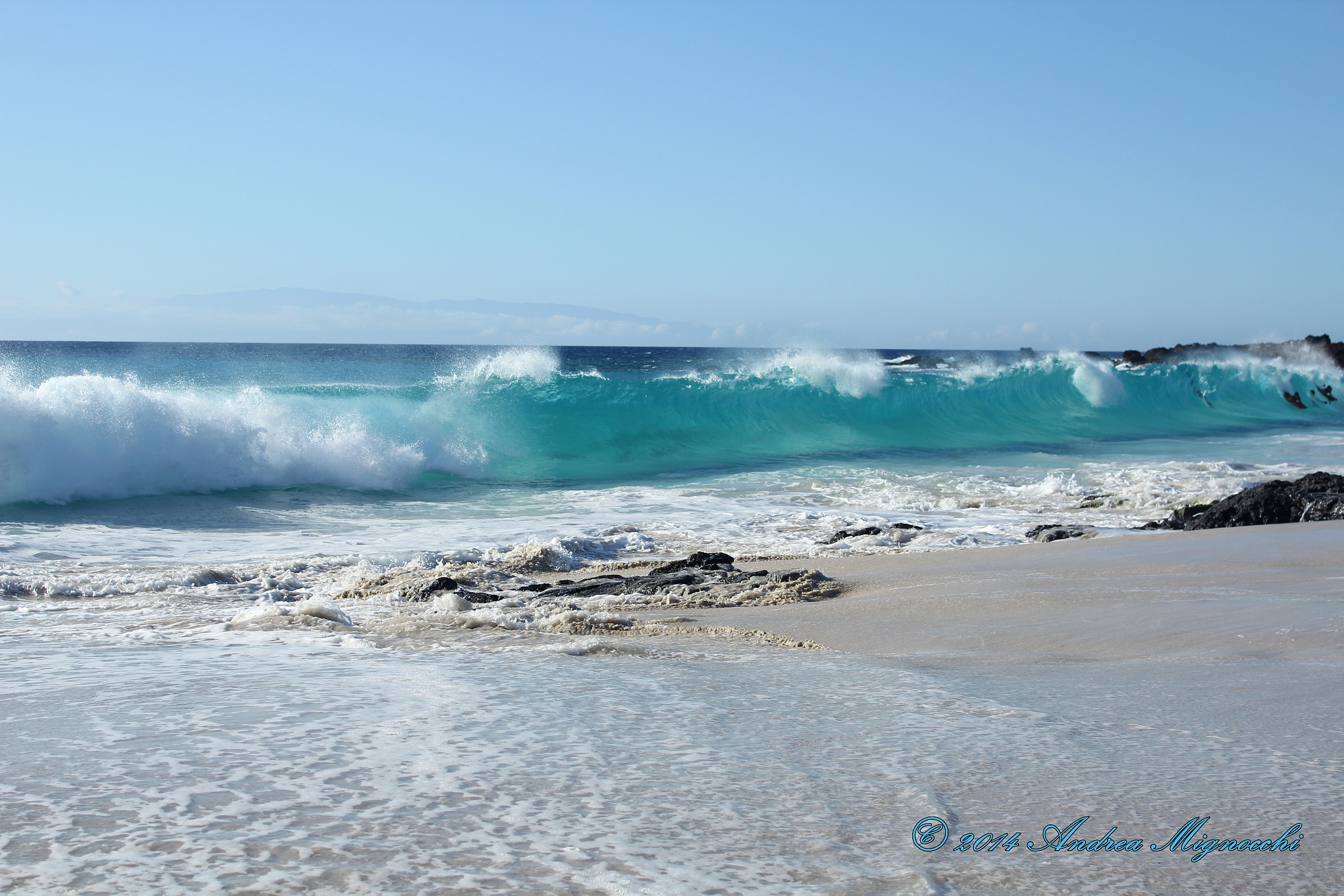 Sea and waves...