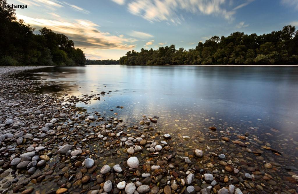 fiume a colori...