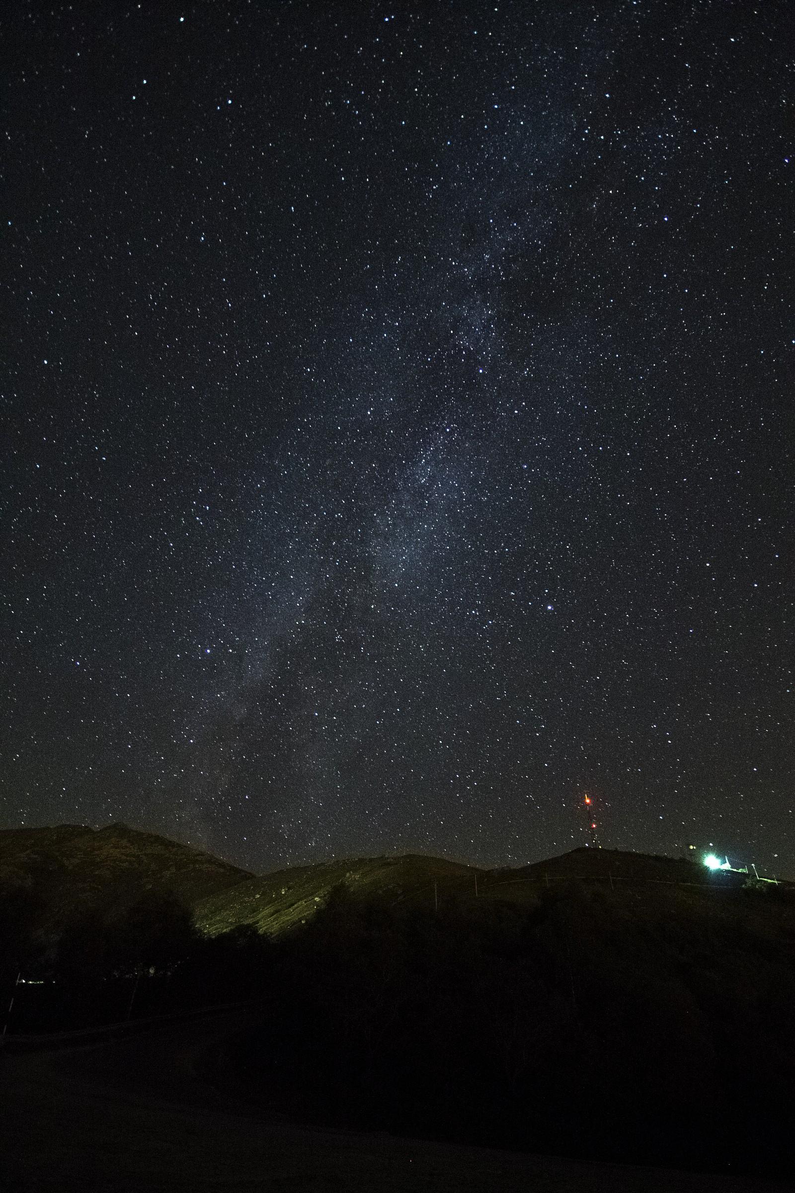 Milky Way Hills...