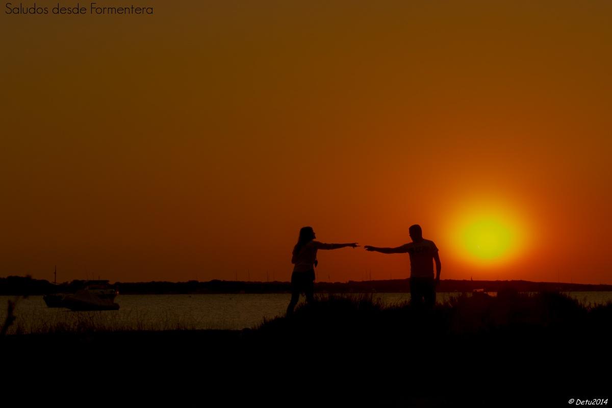 Saludos desde Formentera...