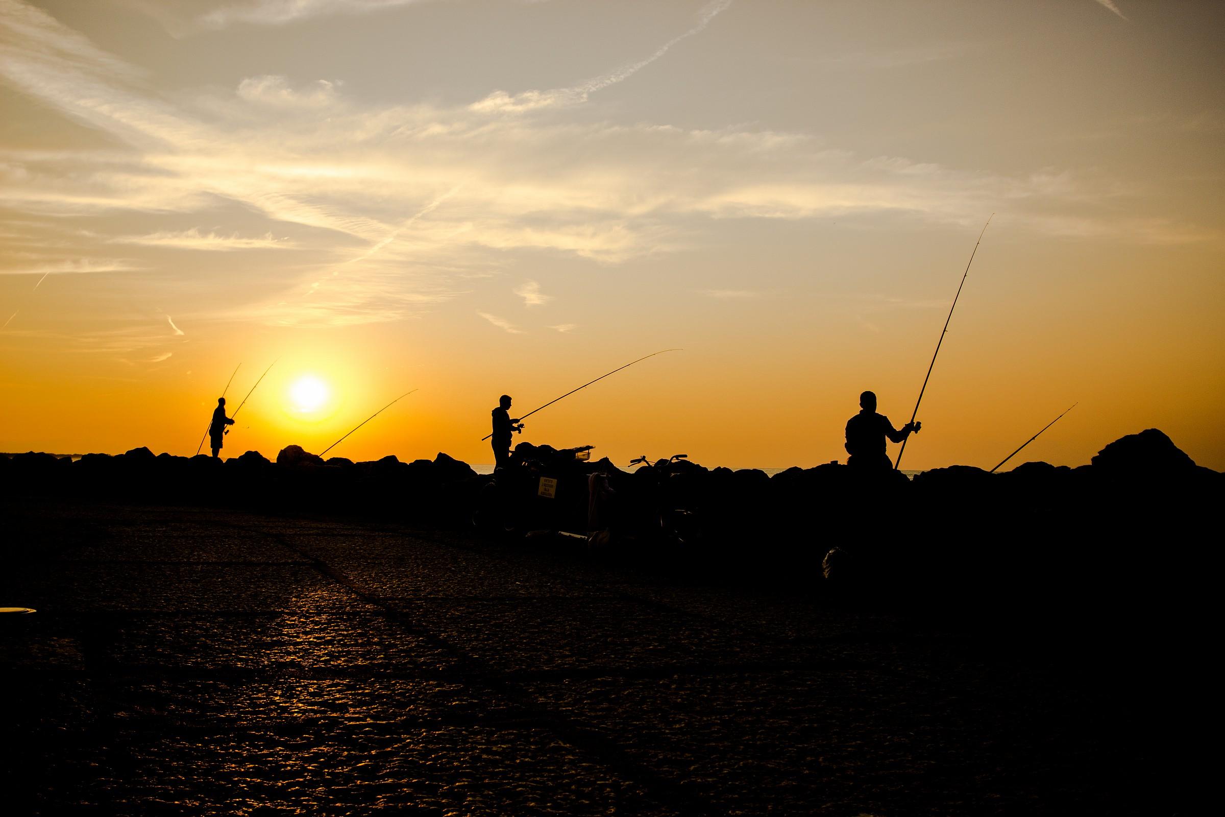 Pesca a Caorle...