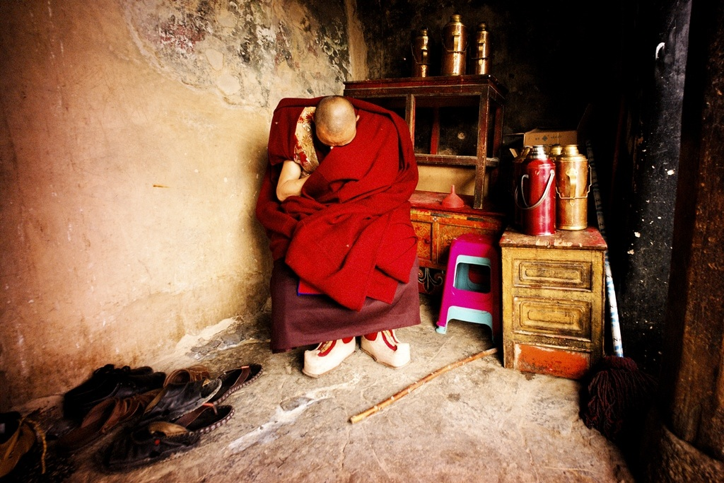 The Monk...