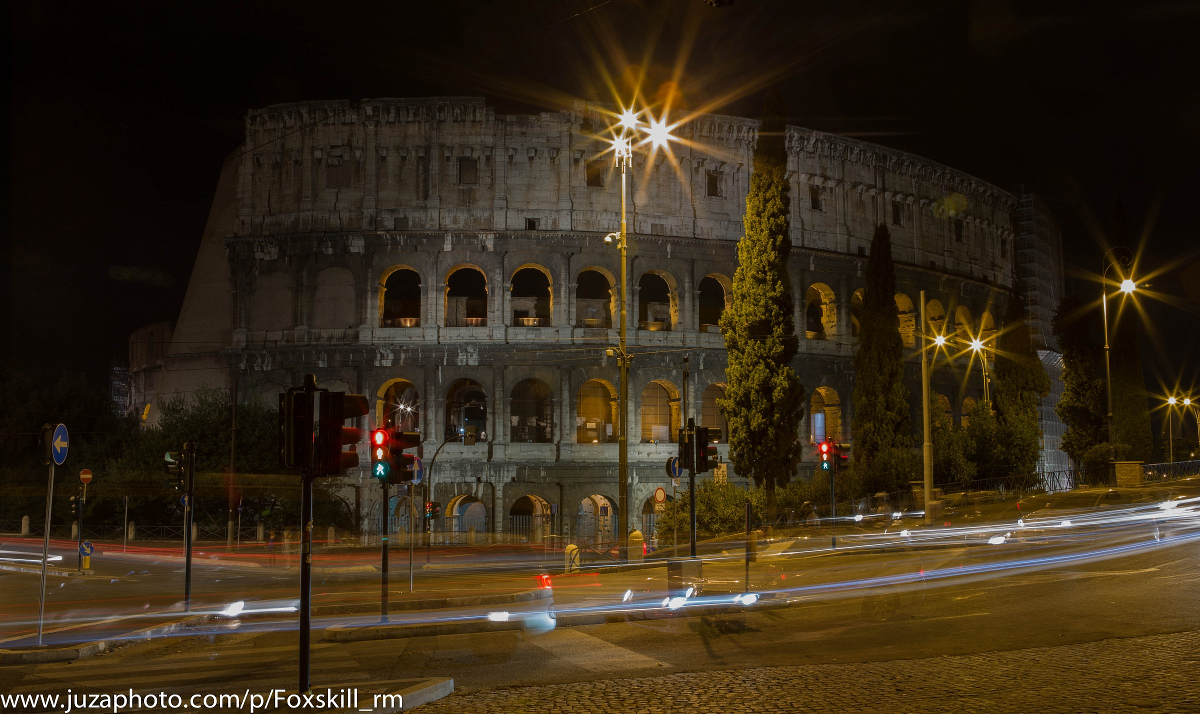 Colosseo by night 3...