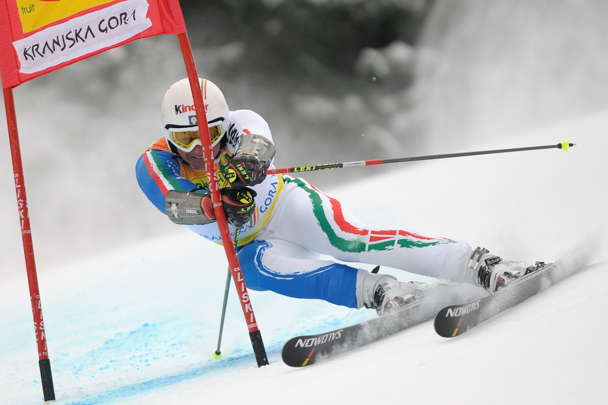 Massimiliano Blardone Italia Ski Team....