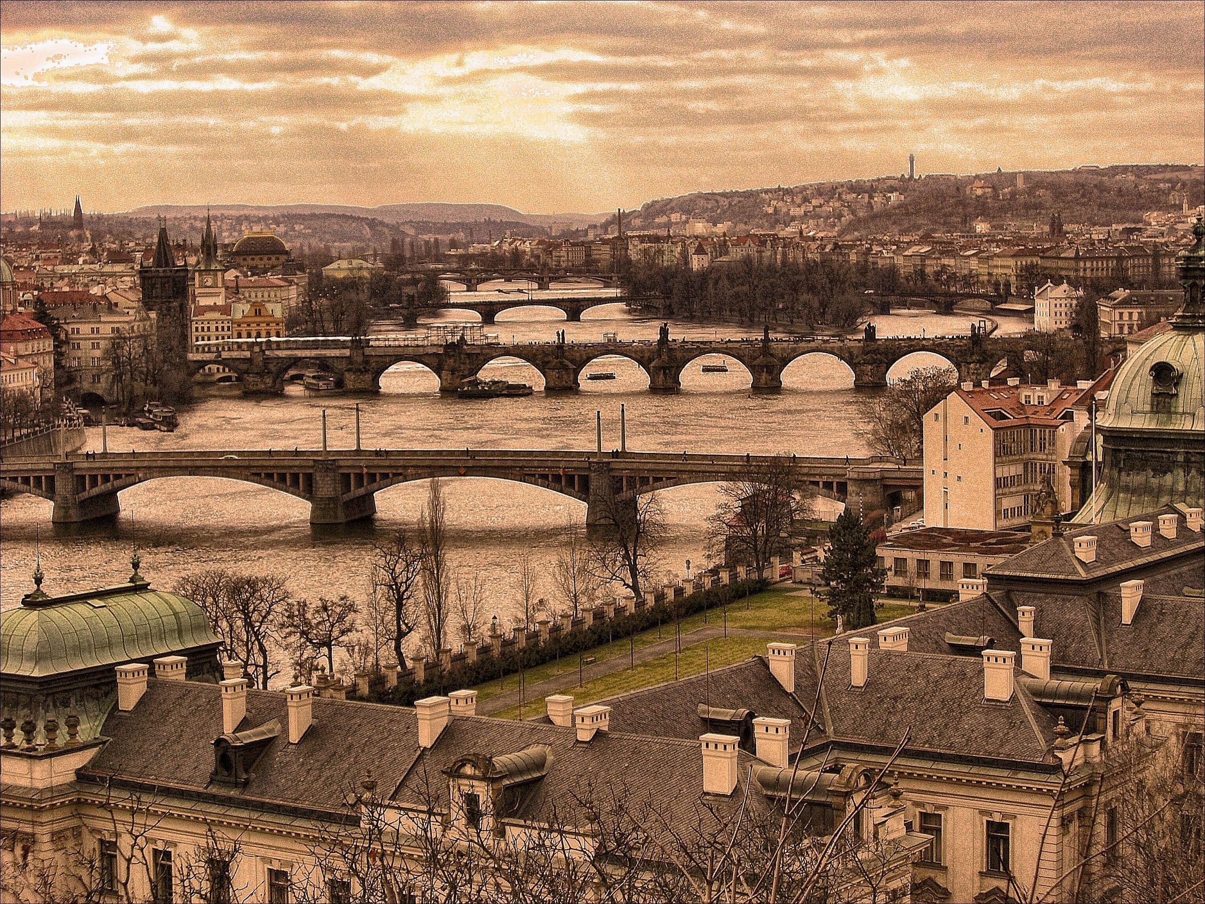 I ponti di Praga...