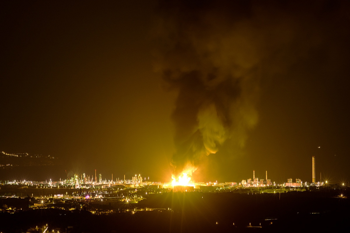 Milazzo Refinery Explosion...