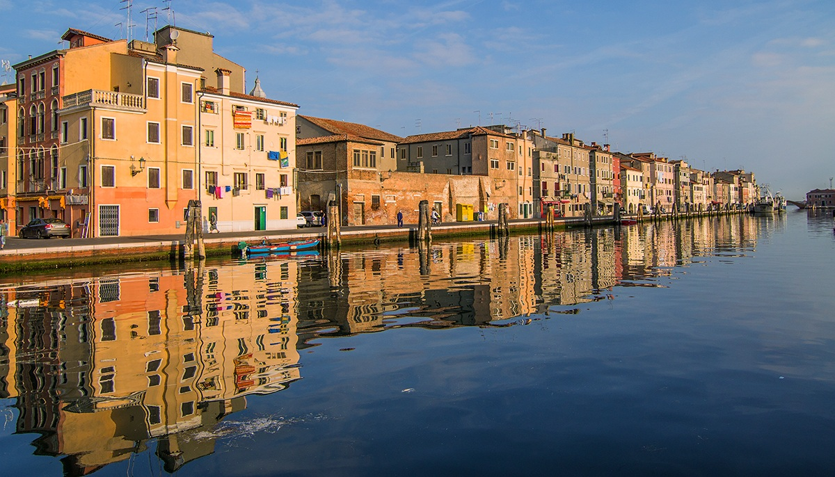 Chioggia shore of San Domenico...