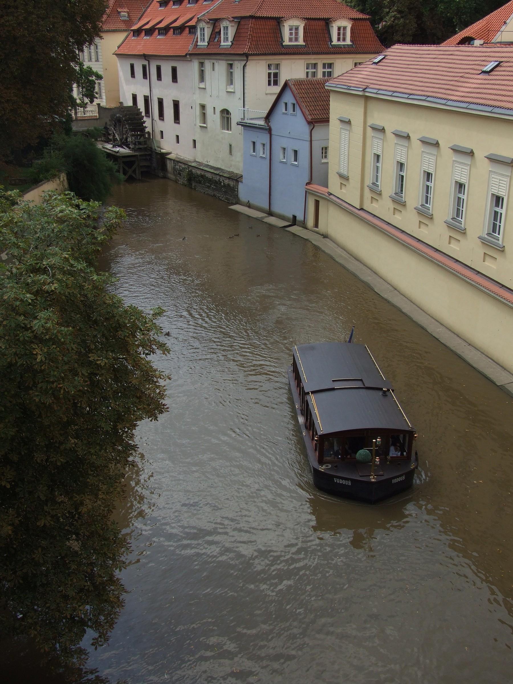 canale navigabile - Praga...