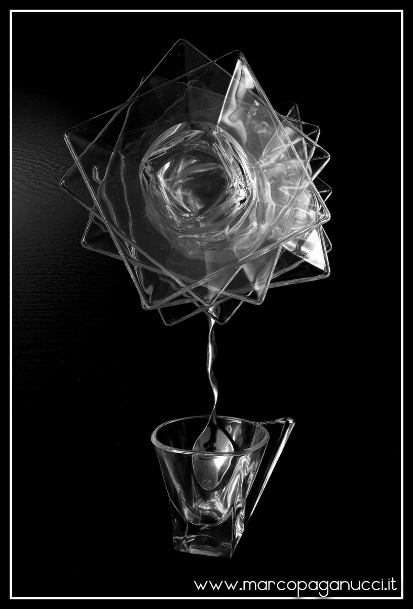 Glass flower...