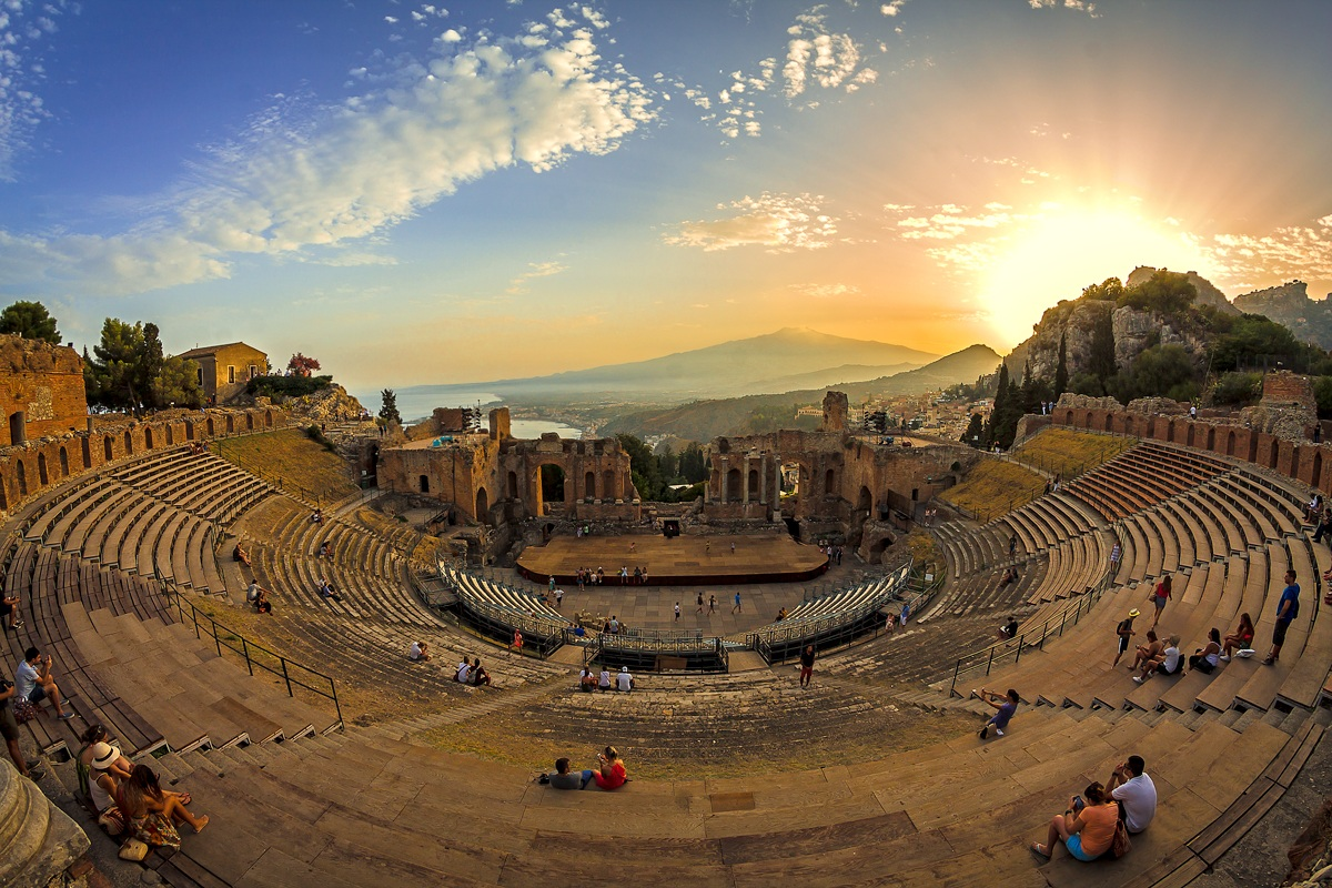 Teatro Greco Romano-Taormina...