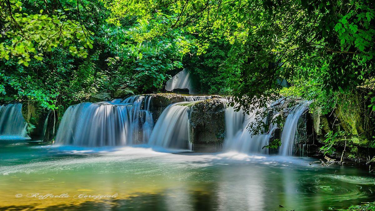 Monte Gelato waterfalls 5...