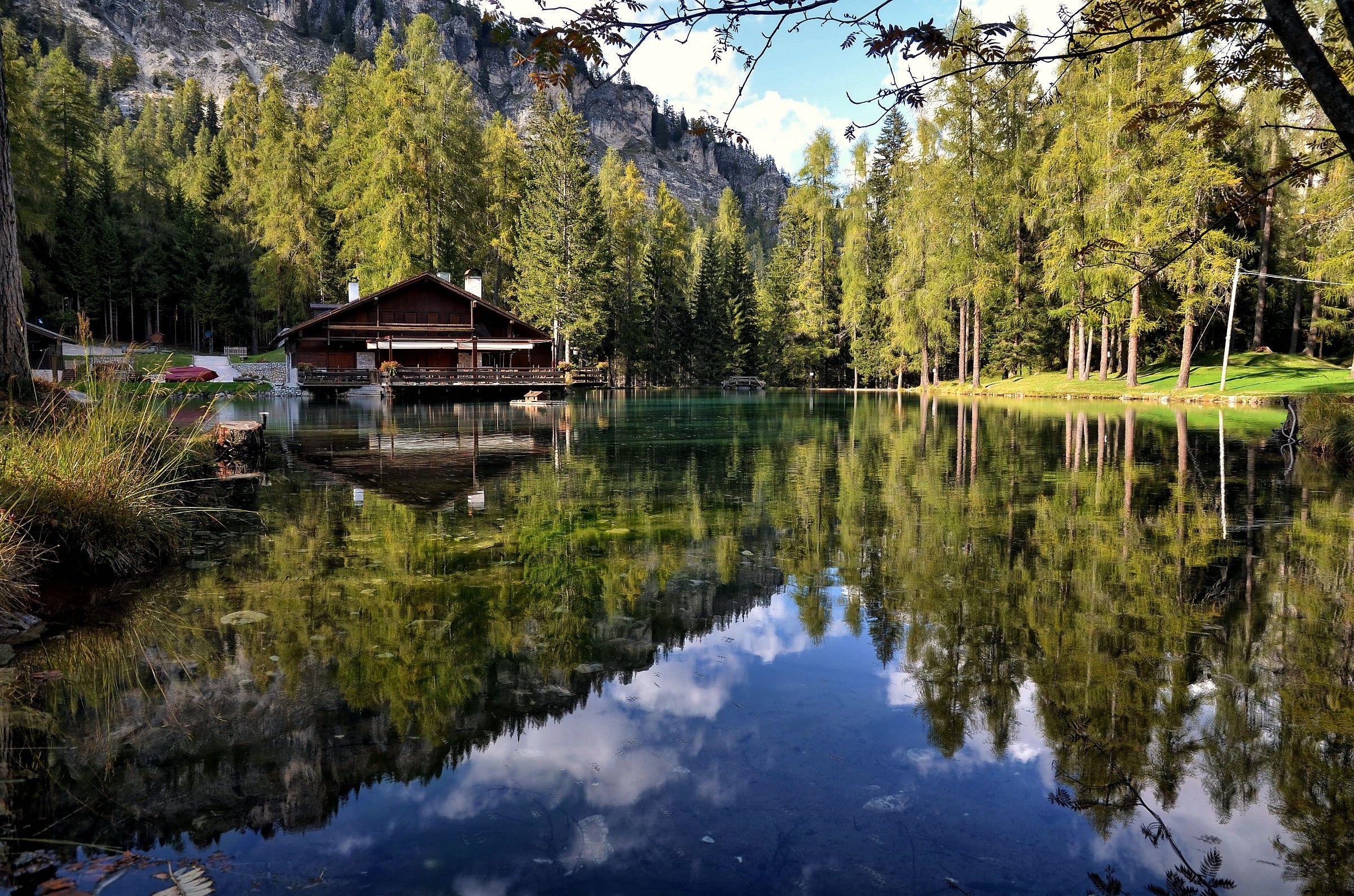 HDR Lake Ghedina...