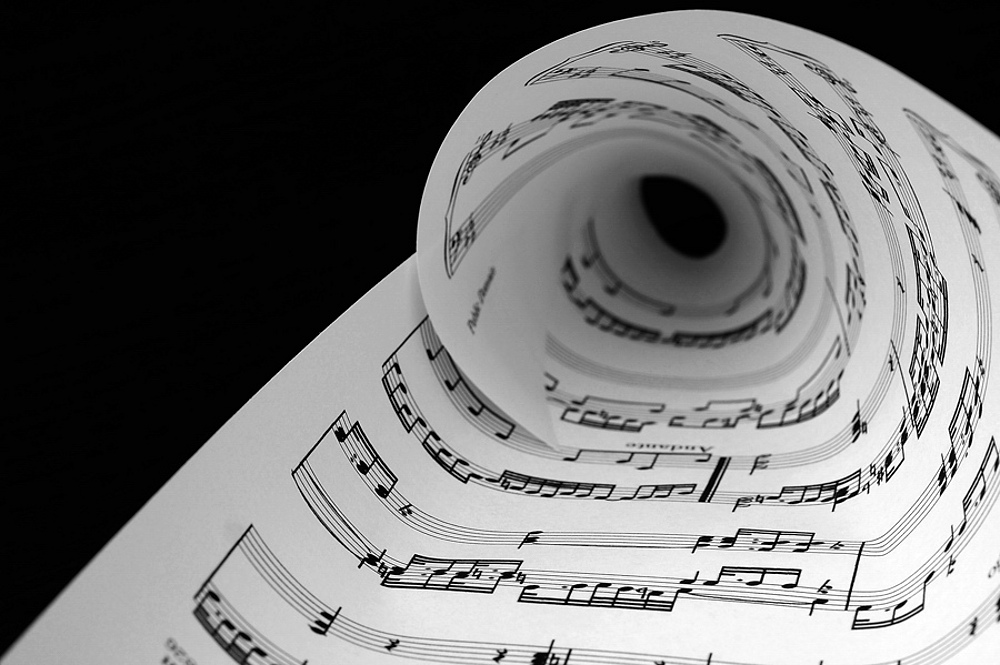 trought the music...