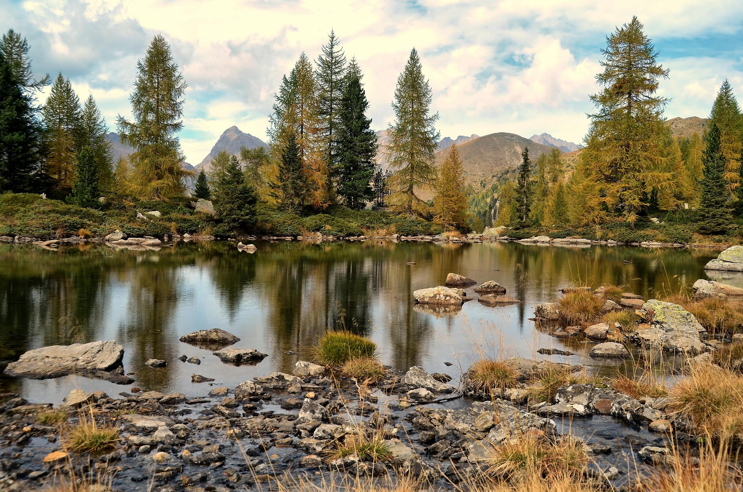 Lake Cengello HDR...