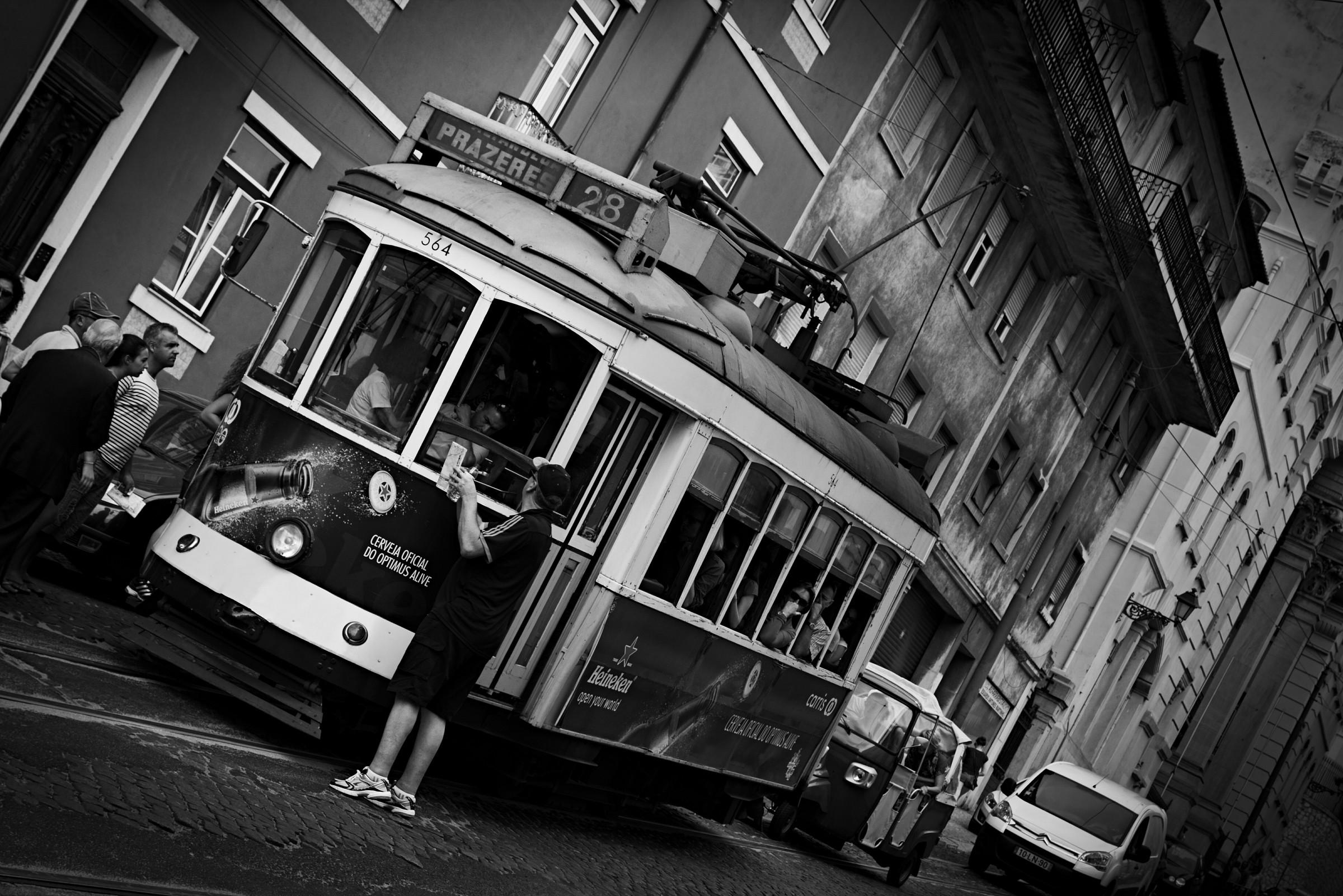 Lisbona B&W...