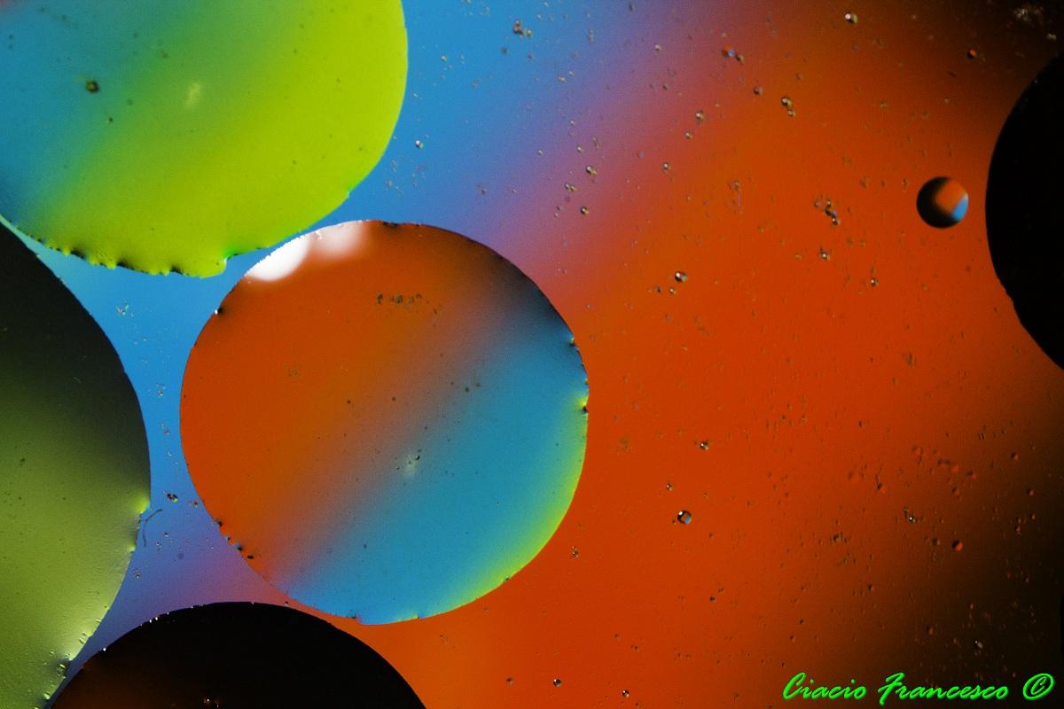 Oil colorful...