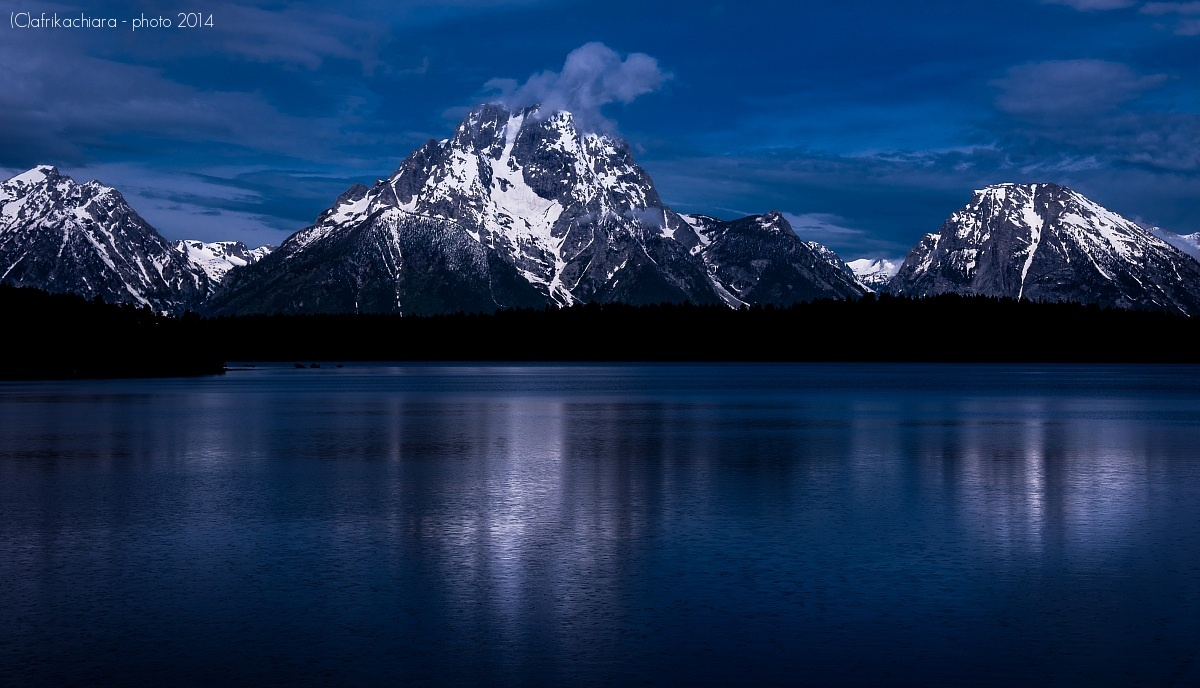 Grand Teton NP Wyoming - USA...