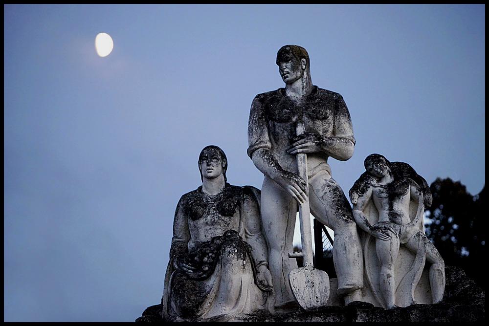 Ancestors of the city...
