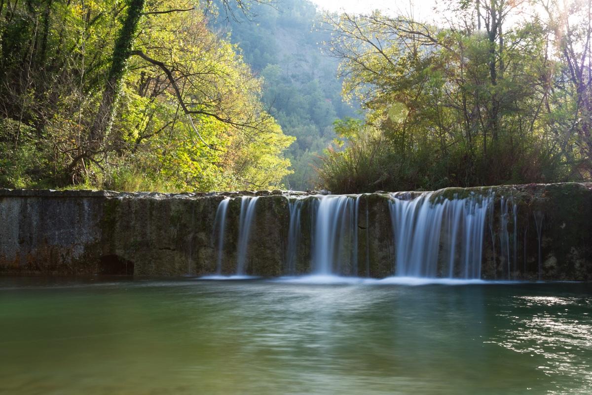 Waterfalls of Castel Trosino...