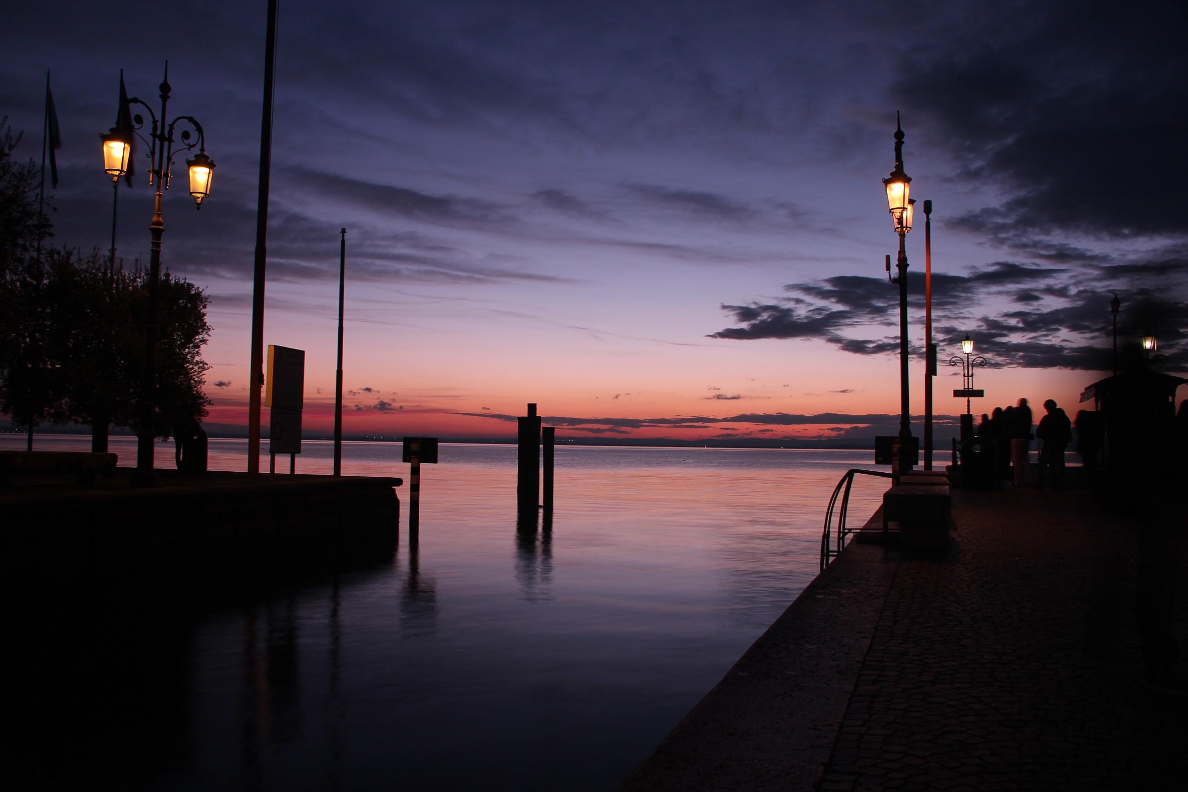 Old port of Lazise - Lake Garda...