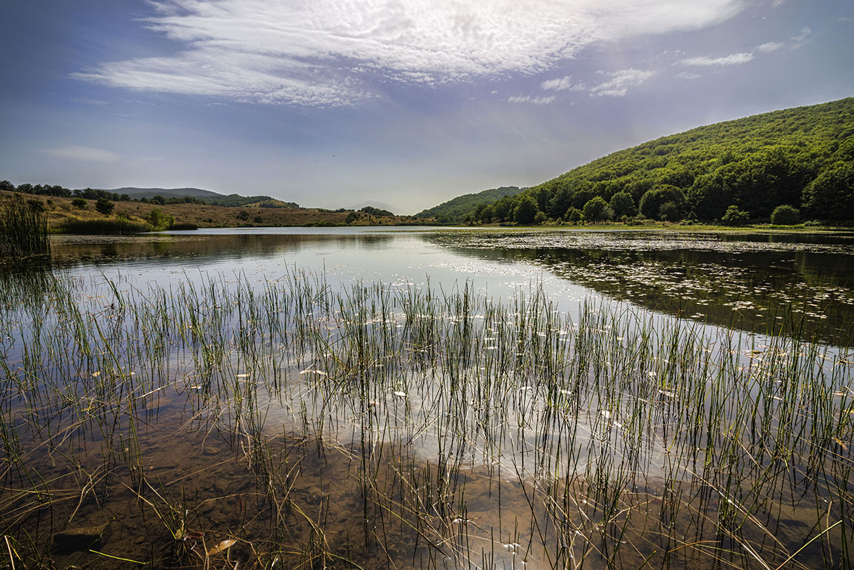 Maulazzo lake, park Nebrodis...