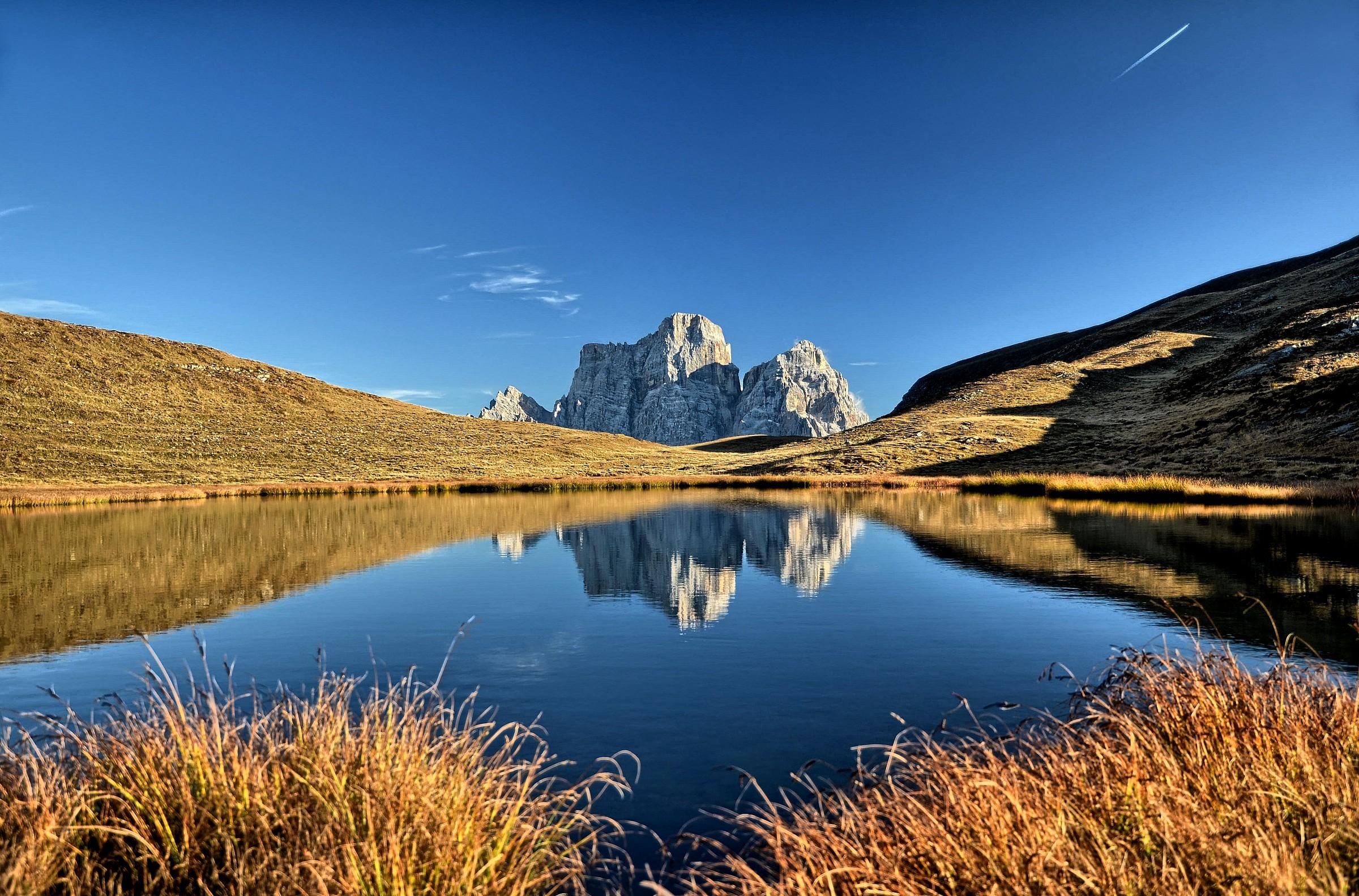 Lake of the Pelmo and Baste...