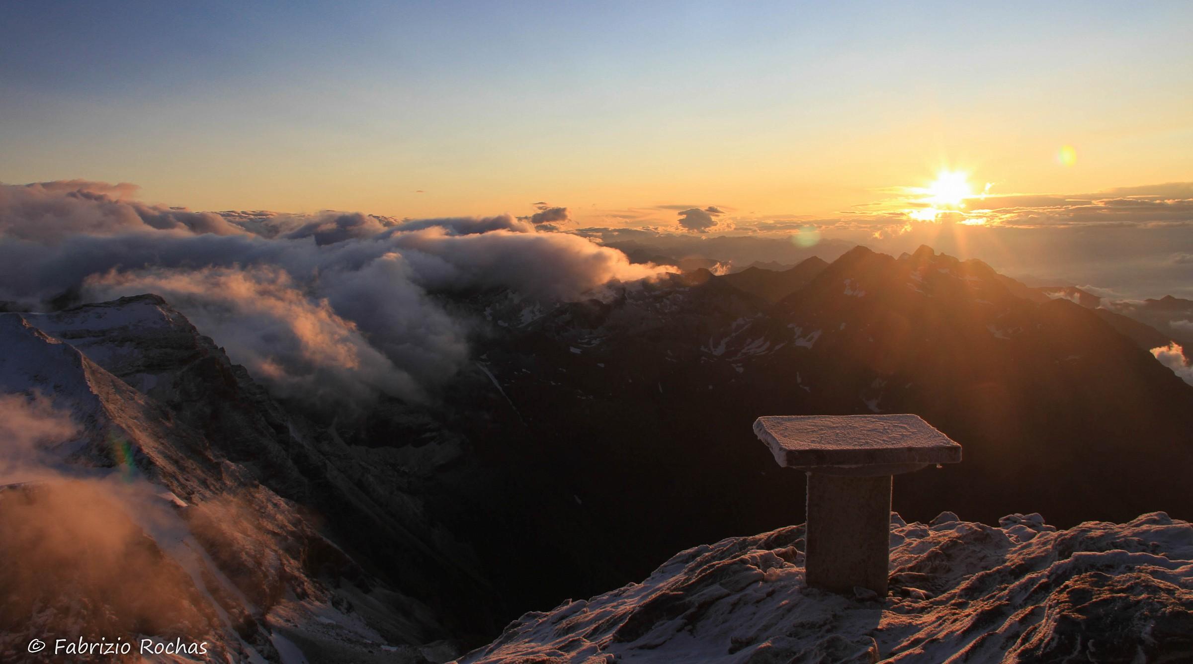 Alba 3600 meters above sea level...