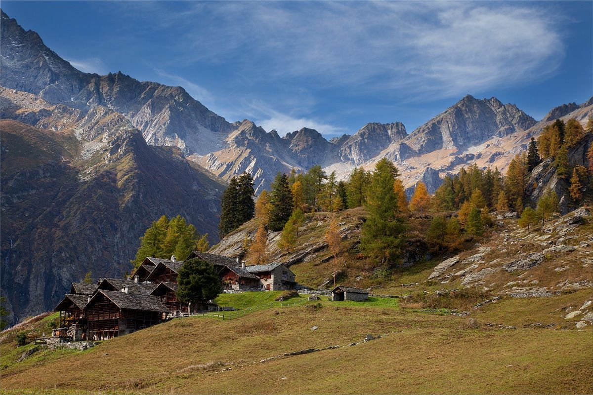 Walser village...