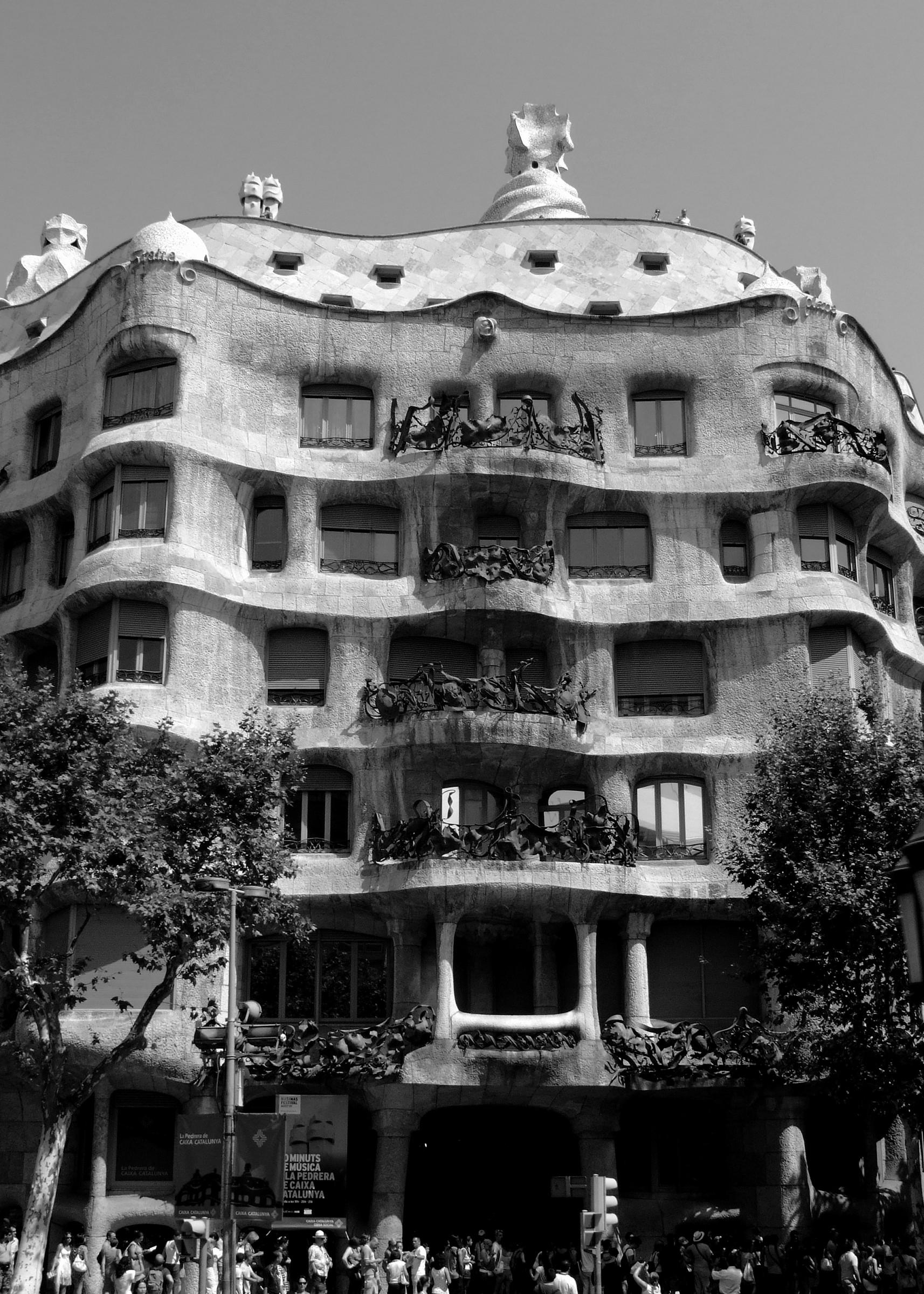 casa pedrera - Barcellona...