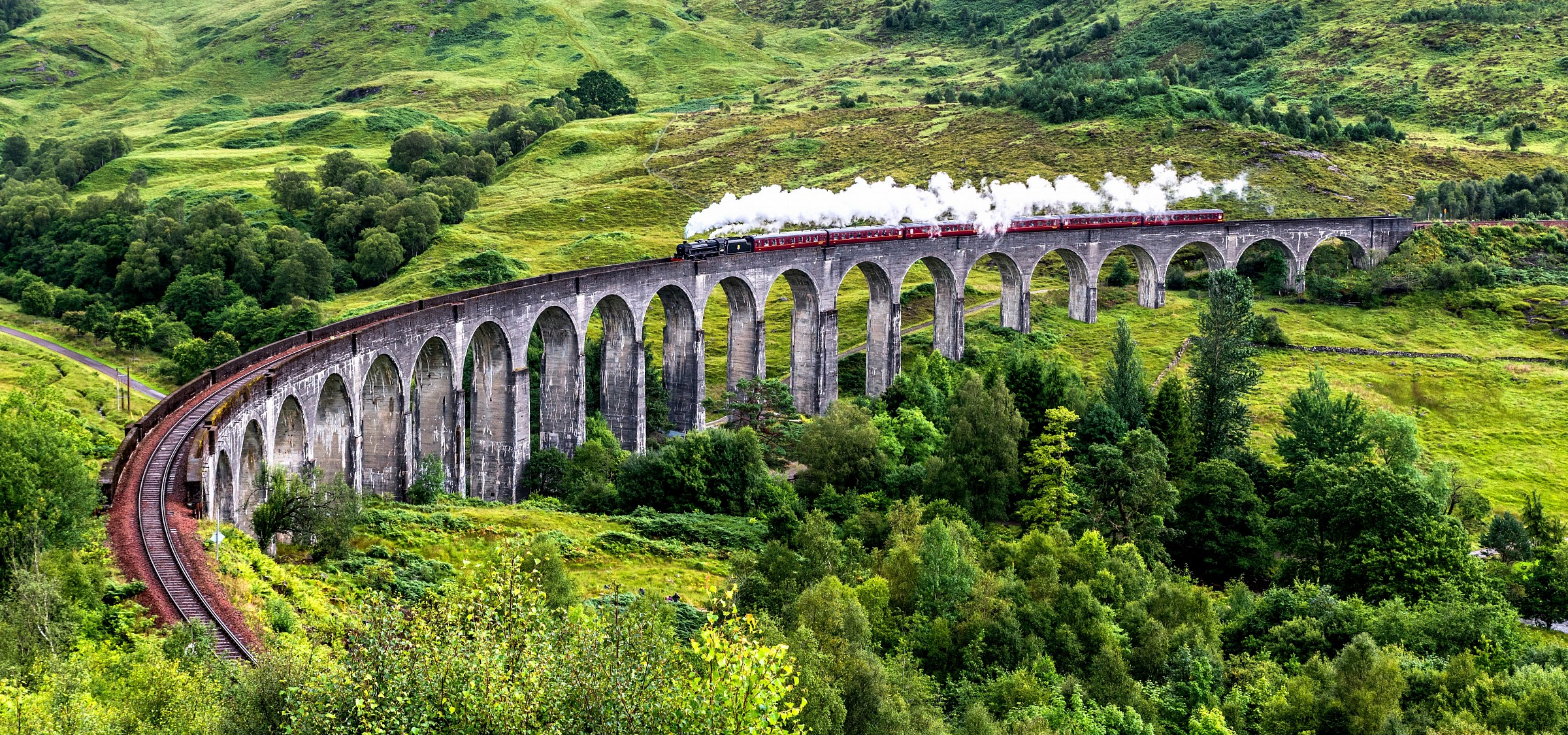 Trenino di Harry Potter - Viadotto di Glenfinnan...