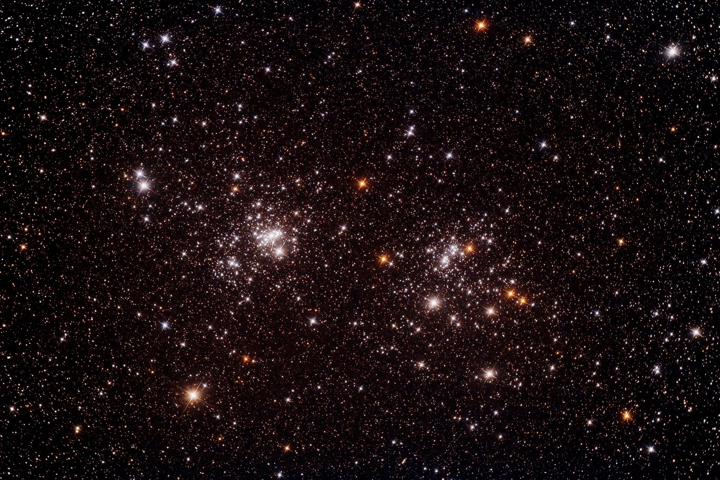 Double Cluster in Perseus...