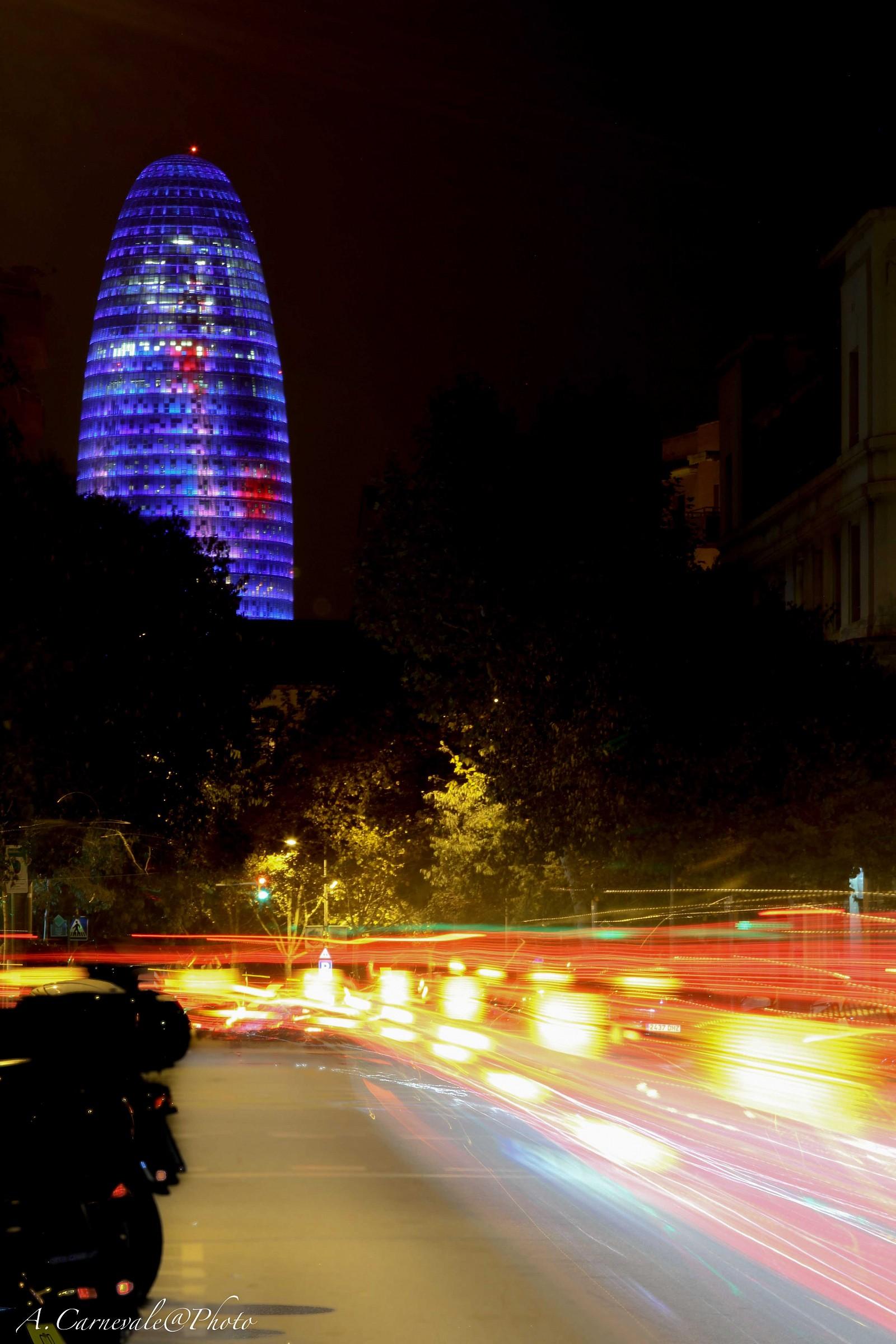 Agbar by night...