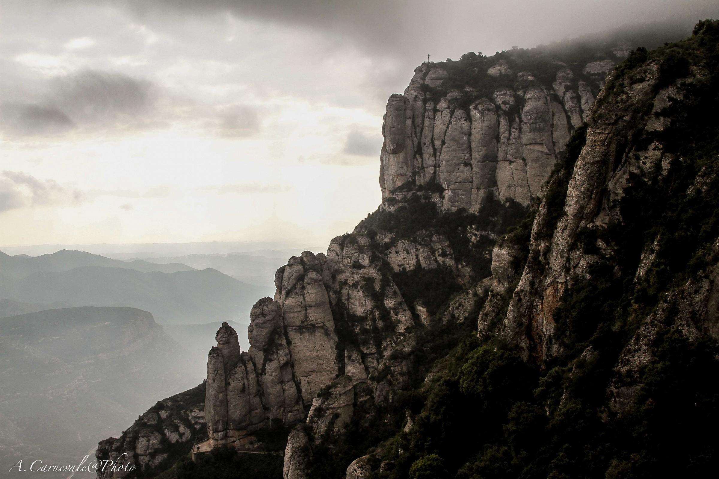Monserrat landscape...