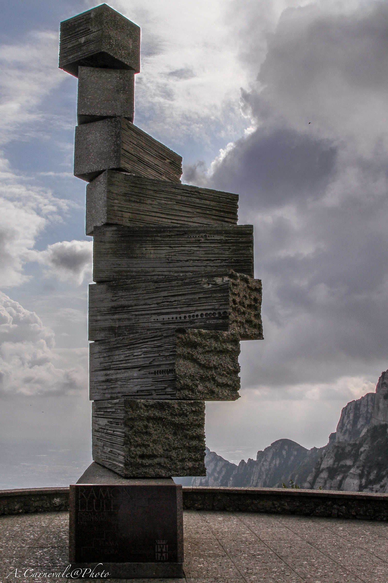 Monument to Montserrat...