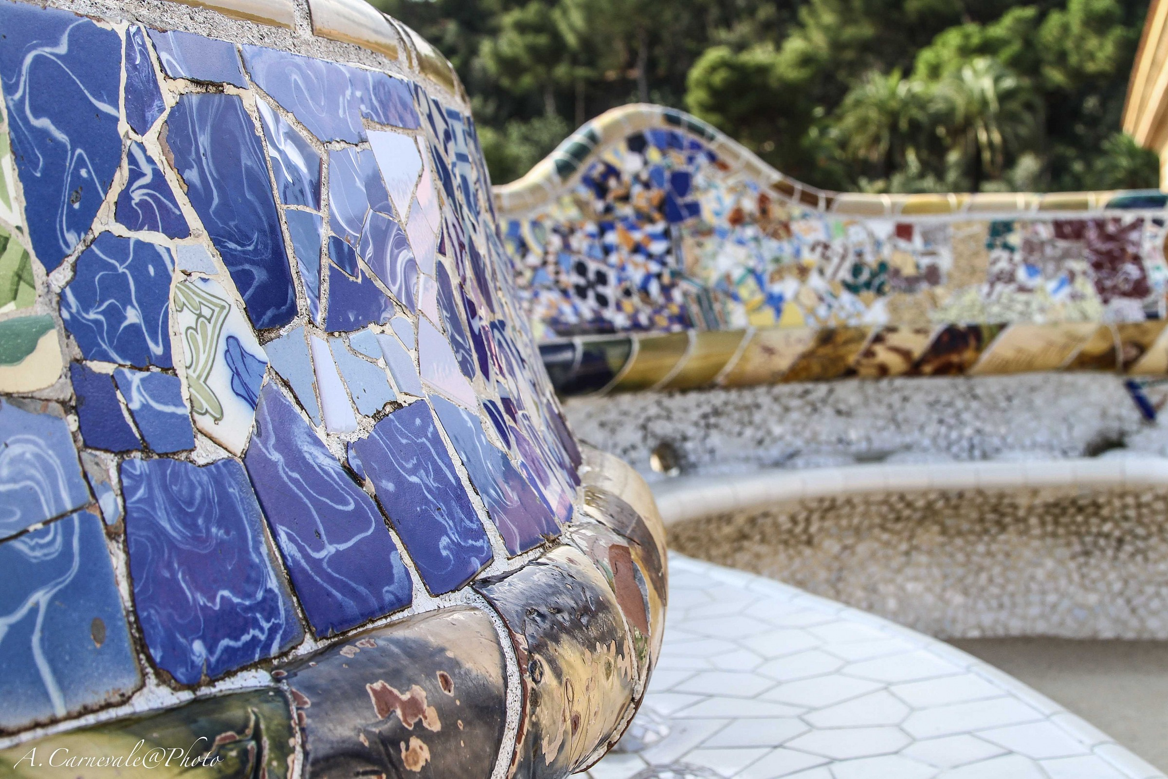 Parque Guell...