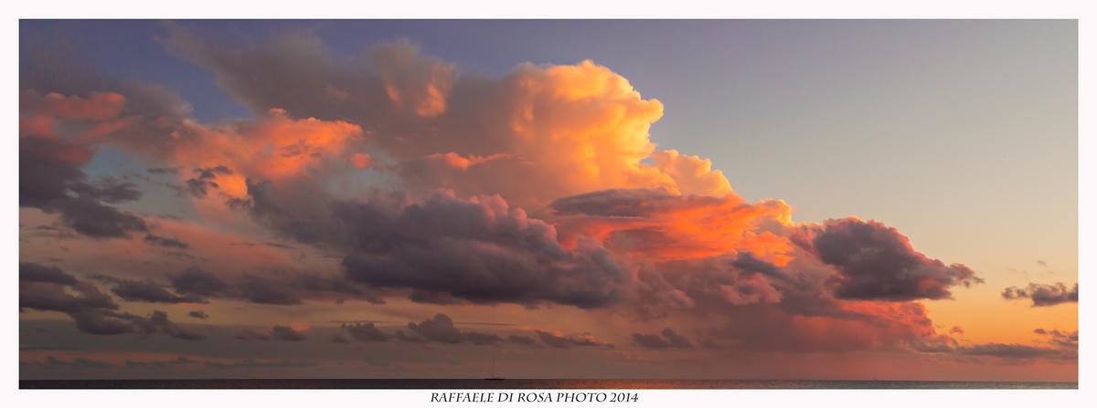 Navigando al tramonto...