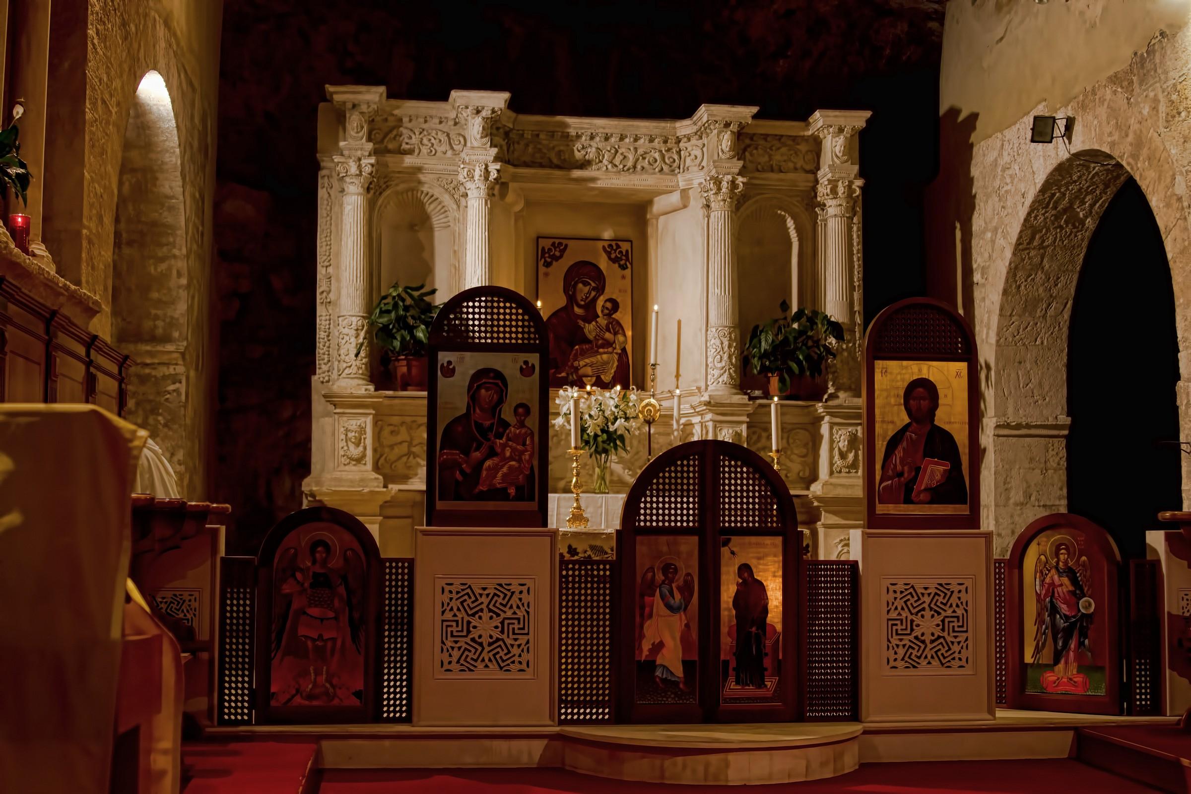 altare bizantino (Pulsano)...