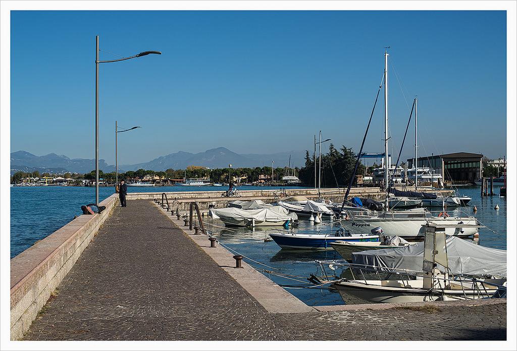 Port of Peschiera...