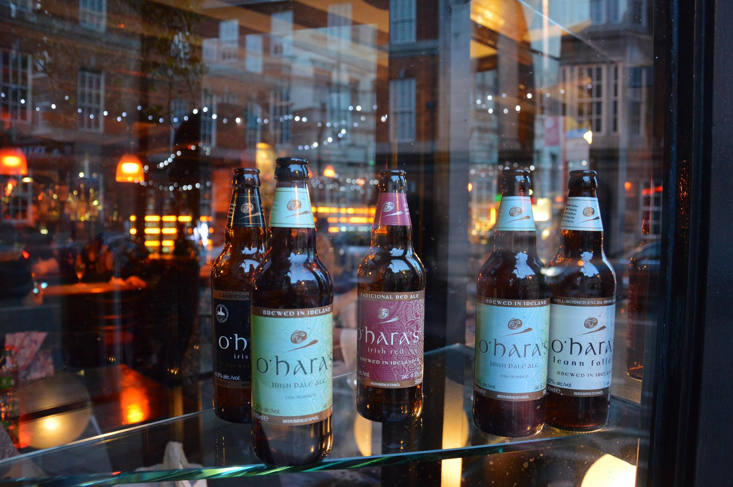 Bottle in Ireland...