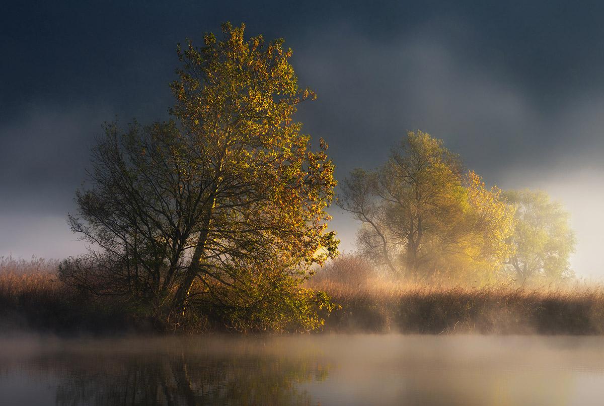 Autumn in smoke...