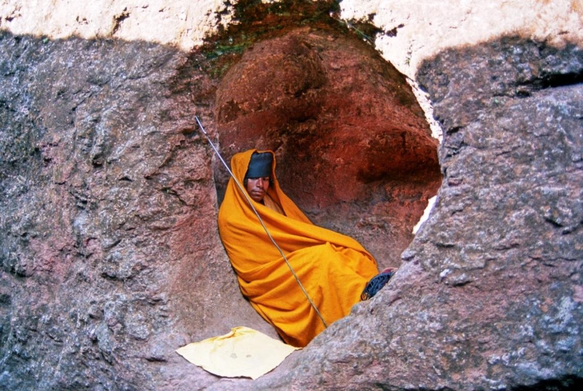 the hermit...