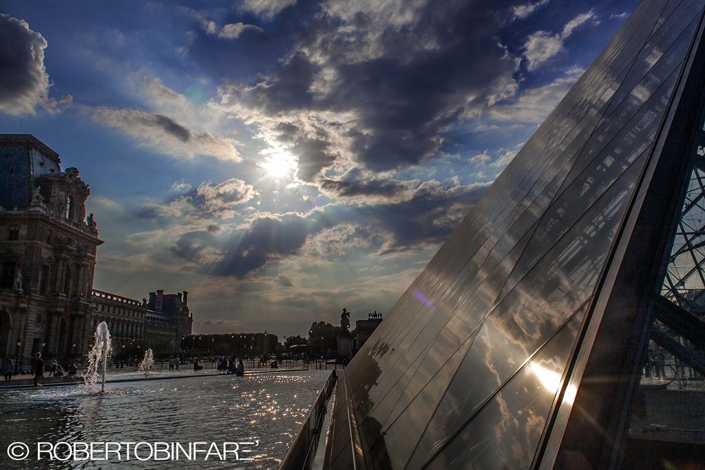 Louvre pyramid...