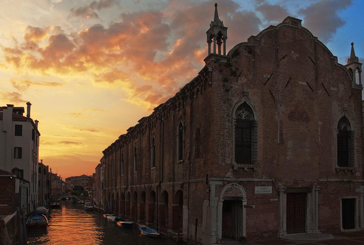 Venice. Campo de l'Abbey...