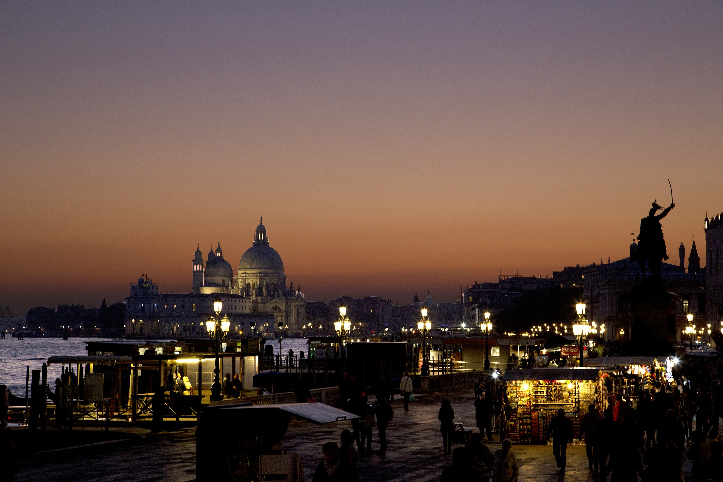 Sunset in Venice - Sunset in Venice...